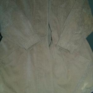 London Fog anorak jacket with lining/hood S/P EUC